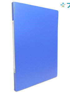 リヒト パンチレスファイル リクエストパンチレスファイルA4青 G1210-8 リヒトラブ LIHITLAB 書類 保管 収容 収納 分類 保存 整理 書類管理 名刺保管 PP表紙パンチレスファイル 便利な透明三角ポ
