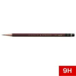 三菱鉛筆 鉛筆 ハイユニ Hi-uni 1ダース 9H HU9H