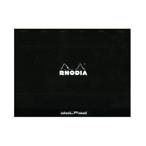 ロディア RHODIA ドットパッドNo.38 ドット方眼(5mm) 単品バラ【デザイン おしゃれ】【ドット入り罫線】