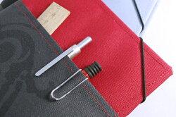 トライストラムスtrystramsオロビアンコOrobiancoアウターポケット付きノートカバー【ノートA5】オロビアンコノート