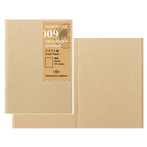 トラベラーズノート TRAVELER'S Notebook パスポートサイズ クラフト紙 【トラベラーズ パスポート】