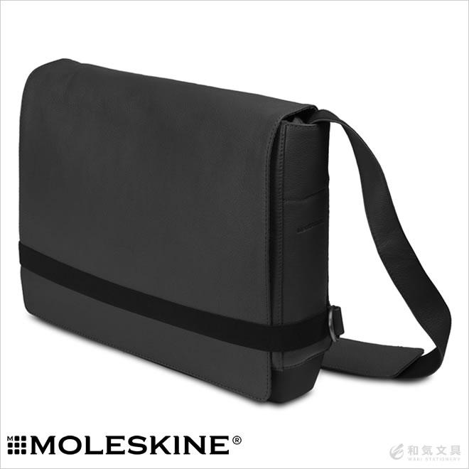 モレスキン MOLESKINE クラシック Classic レザー スリムメッセンジャーバッグ