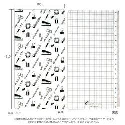 【あす楽対応】和気文具オリジナルトラベラーズノートレギュラーサイズ用下敷き文房具柄手帳ノートオリジナルアイテム