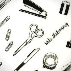 【あす楽対応】文房具和気文具オリジナルモレスキンmoleskineポケット用下敷き文房具柄