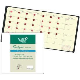 【手帳 2020年】クオバディス QUOVADIS 月間 ブロック 16×16cm正方形 カレプランプレステージ リフィル(レフィル)
