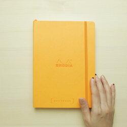 バレットジャーナル名入れ無料ロディアRHODIAゴールブックgoalbookA5サイズページ番号付5mmドット方眼ノート【メール便送料無料】