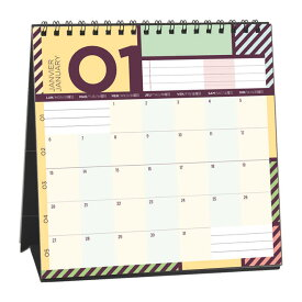 クオバディス × パピエ ティグル Quovadis × Papier Tigre カレンダー プティプランニング
