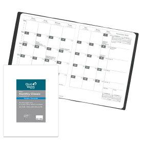 【手帳 2020年】クオバディス QUOVADIS 月間 ブロック 18×24cm マンスリークラシック リフィル(レフィル)
