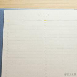 いろは出版サニーノートSUNNYNOTEforbusinessA5変形サイズ2.5mm方眼157ページ【リングノート】【ページ番号付き】【バレットジャーナル】