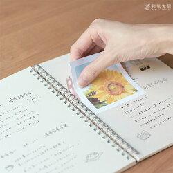 手帳リングノートカスタマイズカンミ堂リングリーフ
