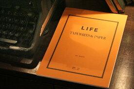 ライフ LIFE タイプ用紙上質紙(A4)5冊セット T21【デザイン文具】 / 5セット