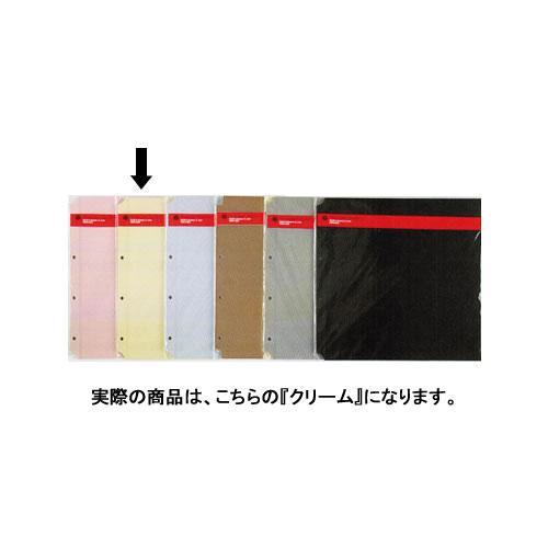 デルフォニックス PD フォトアルバム リフィル 粘着 L 5枚入 クリーム 500178-201 / 5セット