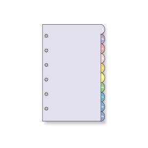 レイメイ藤井 キーワード リフィル アクセサリー アドレスインデックス・カラー ポケットサイズ 10枚入 WPR350 / 5セット
