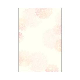 ササガワ [タカ印] 洋柄用紙 フラール はがき大サイズ レース 20枚入 4-1301 [4-130] / 5セット
