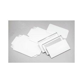 ササガワ [タカ印] 商品券箱 被蓋型組立式 白無地 50枚入 9-345