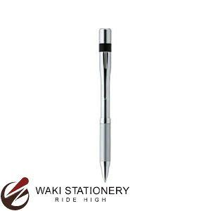 シャチハタ 油性ボールペン ネームペン6 本体のみ TKS-AMN 0.7mm シルバー (インク色:黒)