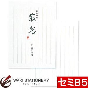 アピカ 意匠便箋 寂光 セミB5 セン51 / 10セット