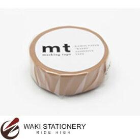 カモ井加工紙 mt マスキングテープ 無地 1P コルク MT01P202