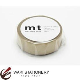 カモ井加工紙 mt マスキングテープ 無地 1P 金 MT01P205