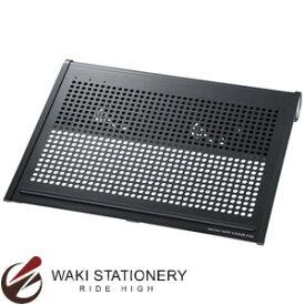 サンワサプライ ノート用クーラーパッド 17型ワイドまで対応 TK-CLN16U3N ブラック TK-CLN16U3N