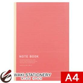 マルアイ NOTEBOOK A4 A罫 レッド NT-A4R [NT-A4] / 10セット
