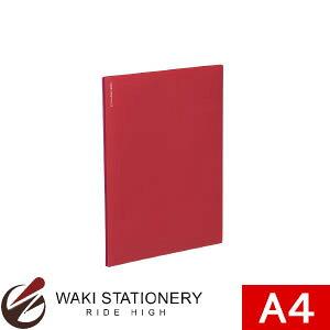 コクヨ 名刺ファイルα[ノビータα] A4 赤 メイ-NF10R
