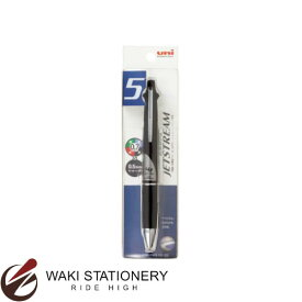 三菱鉛筆 ジェットストリーム 多機能ペン 4&1 1P ボール0.7mm・シャープ0.5mm ブラック (インク色:黒、赤、青、緑)