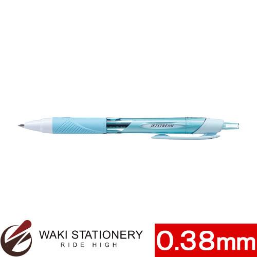 三菱鉛筆 油性ボールペン ジェットストリーム スタンダード 0.38mm スカイブルー (インク色:黒)