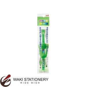 三菱鉛筆 水性蛍光ペン プロパス・ウインドウ 1P 太字角芯4.0mm+細字丸芯0.6mm (インク色:緑) [PUS102T1P] / 10セット