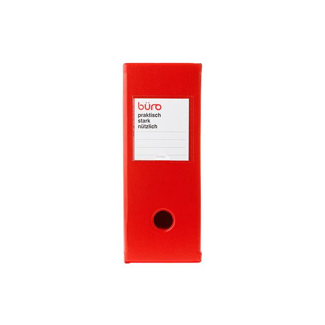 デルフォニックス ビュロー ファイルボックス(横型) レッド 500085-125 / 2セット