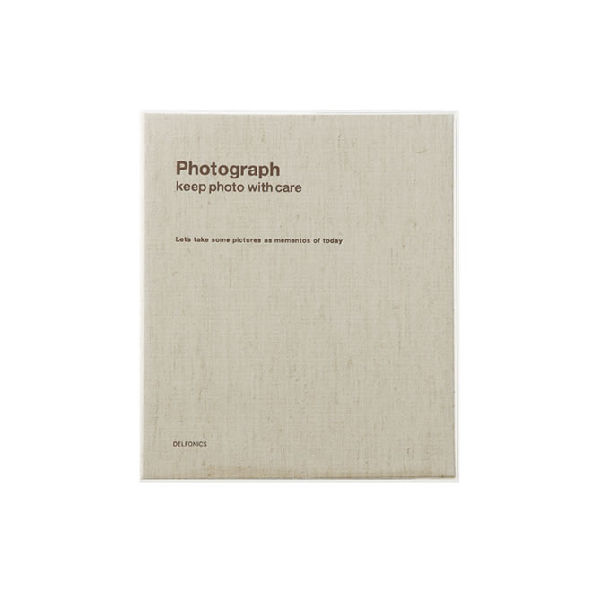 デルフォニックス PD フォトアルバム リング Mサイズ 麻 500172-901