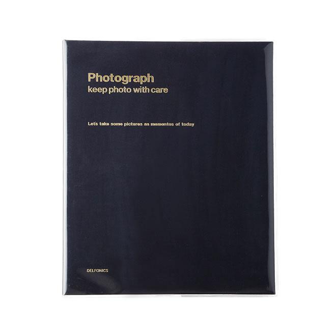 デルフォニックス PD フォトアルバム リング A4 ブラック 500173-105