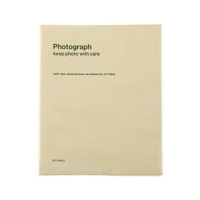 デルフォニックス PD フォトアルバム リング A4 クリーム 500173-200