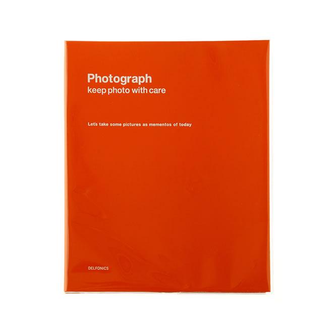 デルフォニックス PD フォトアルバム リング A4 オレンジ 500173-123
