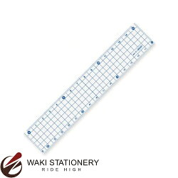 共栄プラスチック方眼定規15cmブルーAH-15-B