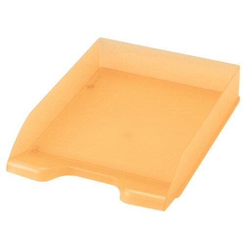 セキセイ ボックスファイル デスクトレー A4 オレンジ SSS-1246-51 / 10セット
