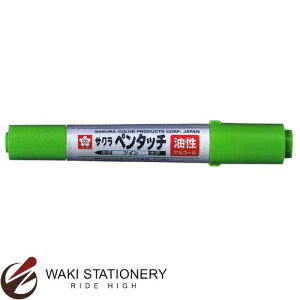 サクラクレパス 油性マーカー ペンタッチツイン きみどり PK-T#27 [PK-T] / 10セット