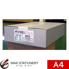 エーワン A-One パソコンプリンタ&ワープロラベル 東芝10面用 A4判 500シート 28722