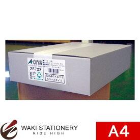 エーワン A-One パソコンプリンタ&ワープロラベル 富士通OASYSタイプ 12面 A4判 500シート 28723