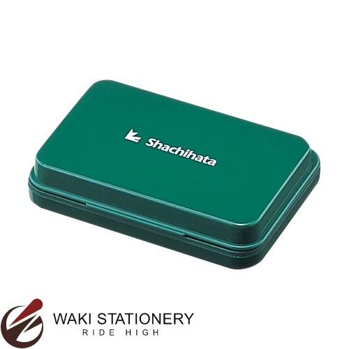 シャチハタ Shachihata シャチハタ スタンプ台 小形 普通紙用 (インク色:緑) HGN-1-G [HGN-1-G]