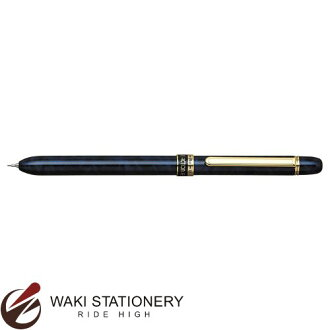 Platinum Ltd brush R3 DOUBLE ACTION mechanical pencil 0.5 + oily ballpoint pen black + red blue marble MWBS-2000 # 56 [MWBS-2000]