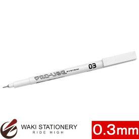 プラチナ萬年筆 マーキングペン プロユース 水性 黒 03 CS-200N#1 (03) [CS-200N] / 10セット