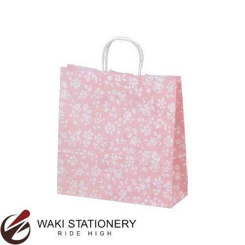 ササガワ [タカ印] 手提げバッグ パーソナル用 中 カレン 10枚入 ピンク 50-6211