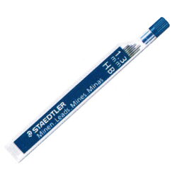 ステッドラーSTAEDTLER1.3mmシャープペンシル用替え芯HB【デザイン文具】