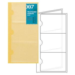 トラベラーズノート TRAVELER'S Notebook リフィル名刺ファイル【デザイン文具】 【トラベラーズ レギュラー】
