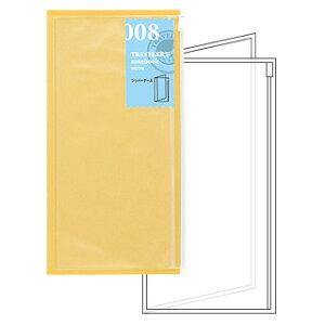 トラベラーズノート TRAVELER'S Notebook リフィルジッパーケース【デザイン文具】 【トラベラーズ レギュラー】