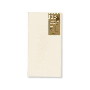 トラベラーズノート TRAVELER'S Notebook リフィル 軽量紙【デザイン文具】 【トラベラーズ レギュラー】