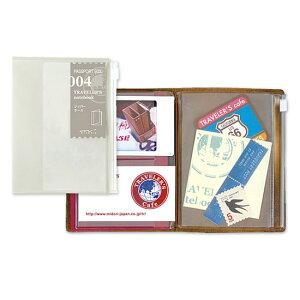 トラベラーズノート TRAVELER'S Notebook パスポートサイズリフィル ジッパーケース【デザイン文具】 【トラベラーズ パスポート】