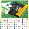 "【TOMBOW】""1500 NQ"" 24 colored pencil set with cloth pen case 【Popular / Vivid / smooth / light / cool / pen / pens】"