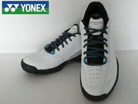 ヨネックス テニスシューズパワークッション 106DSHT-106D(ホワイトxスカイブルー)